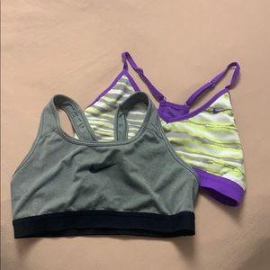 Nike Sports Bra Bundle (2)